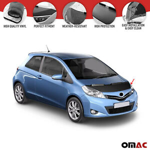 Front Hood Cover Mask Bonnet Bra Protector Fits Toyota Yaris XP 3 2011-2019
