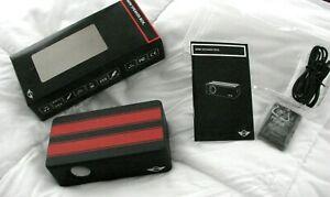 OEM MINI COOPER MINI SPEAKER BOX BLUETOOTH WIRELESS NIB RED & BLACK GREAT SOUND
