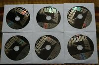 6 CDG LOT ROCK & OLDIES KARAOKE EAGLES,JOHN LENNON,JOE COCKER,MARY WELLS CD+G