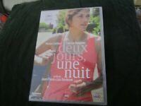 "DVD NEUF ""DEUX 2 JOURS UNE 1 NUIT"" Marion COTILLARD / Jean-Pierre & Luc DARDENNE"