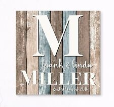 Personalized Rustic Family Name Sign Pallet Wood Style FREE SHIPPING