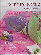 Peinture textile nouvelles techniques Colette Clément-demange
