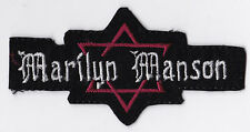 MARILYN MANSON     PATCH   ECUSSON  Patch thermocollant