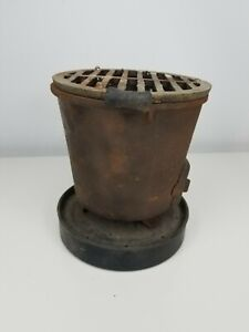 Cast Iron Antique ACHI Stove pot RARE rusty outdoor kitchen camping collectable