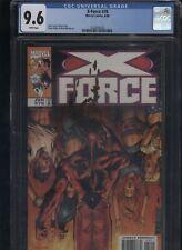 X-Force #78 CGC 9.6 John Francis Moore ADAM POLLINA 1998