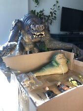 Jabba The Hutt Walmart exclusive & Rancor TRU black series + misc figures Mixed