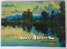 David Badcock Plein Air Painter  Signed Hardcover