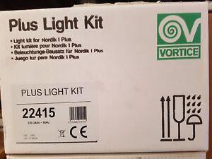 VORTICE 22415 Plus Light Kit Light For Fans Ceiling Nordik International