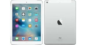 Apple iPad Air 1st Gen. 16GB, Wi-Fi + Cellular, 9.7in - Silver - Cracked Screen