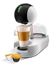 DELONGHI Dolce Gusto Stelia Nescafe Coffee Espresso Cappuccino Machine IN WHITE