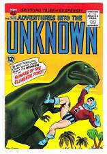 ADVENTURES INTO THE UNKNOWN #155 - 1965 Silver Age - Nemesis - High grade