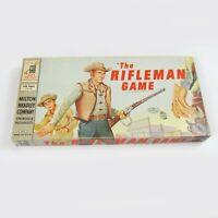 Vintage 1959 The Rifleman Game ABC TV Show Cowboy Western MiltonBradley COMPLETE
