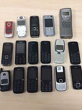 Joblot - 17 X Various Nokia Faulty Mobile Phone Handsets
