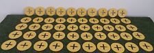 PK (50) GROUND COVER AND MYPEX FIXING PEG WASHERS NEW  **WASHERS ONLY**