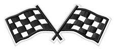 Racing Flags Checkered flag toppa ricamata termoadesivo iron-on patch Aufnäher