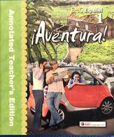EMC Espanol Level 1 Aventura Annotated Teacher's Edition