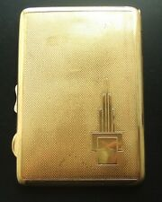 Vintage Boxed Cigarette Case by Hamilton : 'Goldoid' and British Made