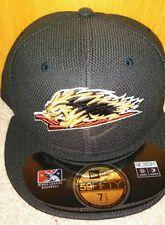 Scranton/Wilkes-Barre RailRiders Diamond BP Navy New Era 5950 Cap Hat NWT 7 1/8