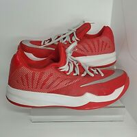 Nike Zoom Run Mens 8.5 The One Harden Red Running Shoes Lace Up 685779-503