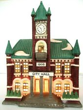 """Dept 56 """"City Hall"""" ~ (1988) ~ * Christmas In The City *"""