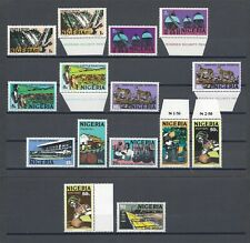 More details for nigeria 1973-74 sh 280/9, 280a, 288a + shades mnh cat £39