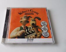 Wallace & Gromit Cracking Animator PC CDROM BBC Multimedia 1997  FreePost UK