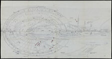 "Unique Star Trek Enterprise-E Original Blueprints 1996 30""x57"" NM 9.0"