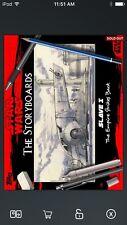 Topps Star Wars Digital Card Trader Red Storyboards Slave I Insert