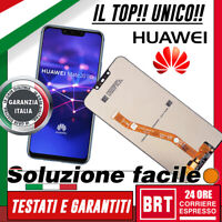 DISPLAY LCD+TOUCH SCREEN ORIGINALE PER HUAWEI MATE 20 LITE SNE-LX1 AL00 SCHERMO!