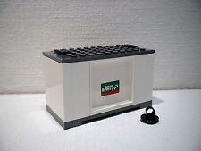 LEGO® Eisenbahn Container weiß für 3677, 7898, 7938, 7939 - City - NEU 1