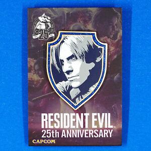 Resident Evil Leon S. Kennedy 1st Edition 25th Anniversary Enamel Pin Figure
