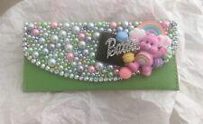 Pearl crystal bling Care Bears barbie Purse wallet kawaii