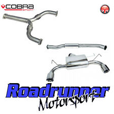 Cobra Sport Nissan 350Z Exhaust System Stainless Cat Back Resonated & Y Section