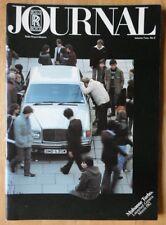 ROLLS ROYCE Dealer Journal brochure for Sales Staff - 1982 Vol 2 No 2