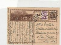 austria 1927  stamps card ref 20945