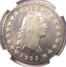 1795 Flowing Hair Silver Dollar ($1 Coin) - NGC Fine Details - Rare Coin!