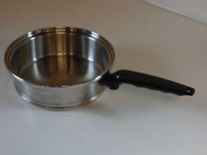"LIFETIME Cookware T-304 CC Stainless Steel 2 qt. Sauce Pan 8.5"" no lid"