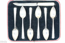 Sheffield Post - 1940 Antique Solid Silver Spoons