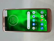 New listing Motorola Moto G6 Xt1925-6 32Gb At&T T-Mobile Unlocked Smartphone Pink R664