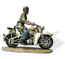LEAD SOLDIERS MOTORCYCLE - Fallchirmjagers italy, Zündapp KS 750 - SMI022
