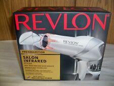 (W)Revlon 1875W Infrared Hair Dryer Faster Drying Maximum Shine Salon Styler