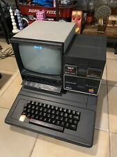 Apple II Bell & Howell Vintage Compter With Sanyo Monitor