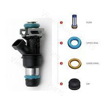 8 set For CHEVROLET GMC V8 Fuel Injector Repair Seal Fliter Kit  FJ10062 FJ315