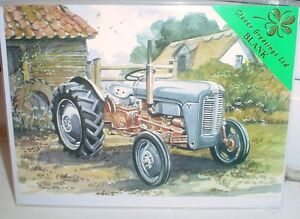 Lovely Quality Greeting Card Ferguson By The Barn