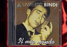 BINDI UMBERTO-IL MIO MONDO SERIE ALL THE BEST  CD NUOVO SIGILLATO