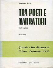 Salvatore Rizzo = TRA POETI E NARRATORI = SERIE PRIMA
