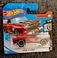 MATTEL Hot Wheels CLASSIC '55 NOMAD brand new sealed