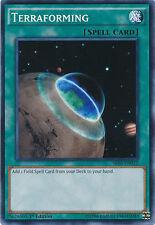 Terraforming Common 1st Edition Yugioh Card SR03-EN032