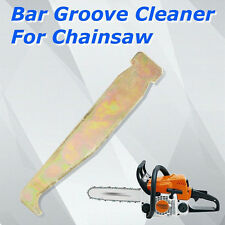 Chainsaw Chain Saw Guide Bar Rail Groove Cleaner Cleaning Tool for All Sizes