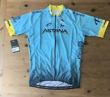 "New Giordana ASTANA Full Zip Replica Team Jersey Size XL For 42"" Chest Ref:A42"
